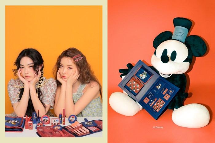 荷包小心:這次與迪士尼攜手,3CE x Micky 推出復古米奇彩妝品!