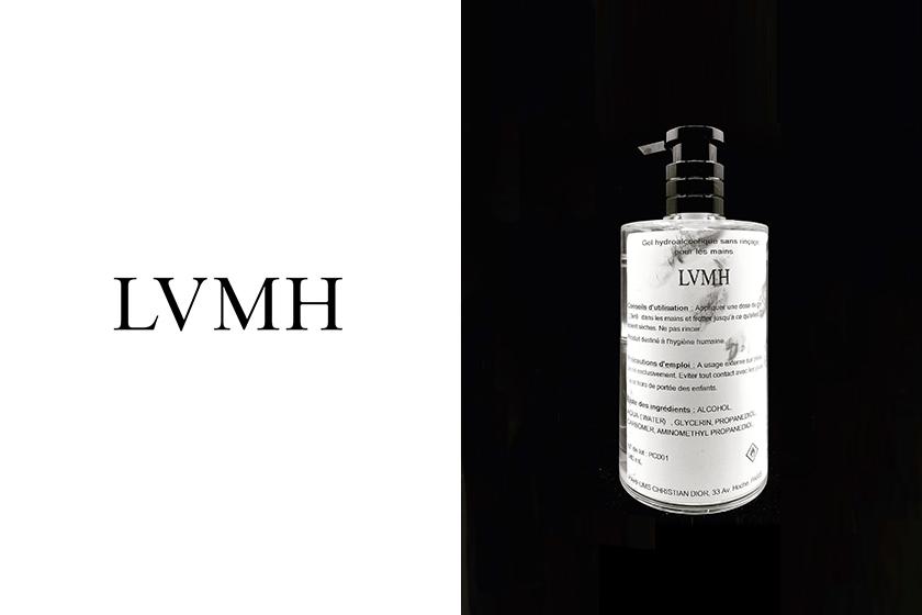 LVMH Dior hand sanitiser Carrefour Covid-19