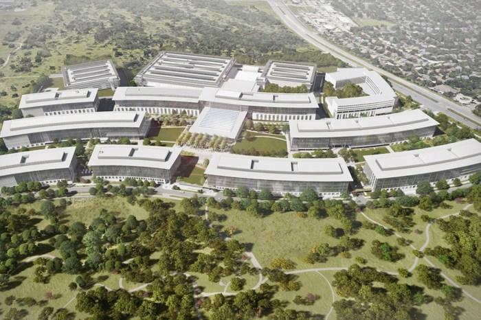 Apple 新德州園區 2022 年完成,但裡頭竟悄悄蓋起了 Hotel!