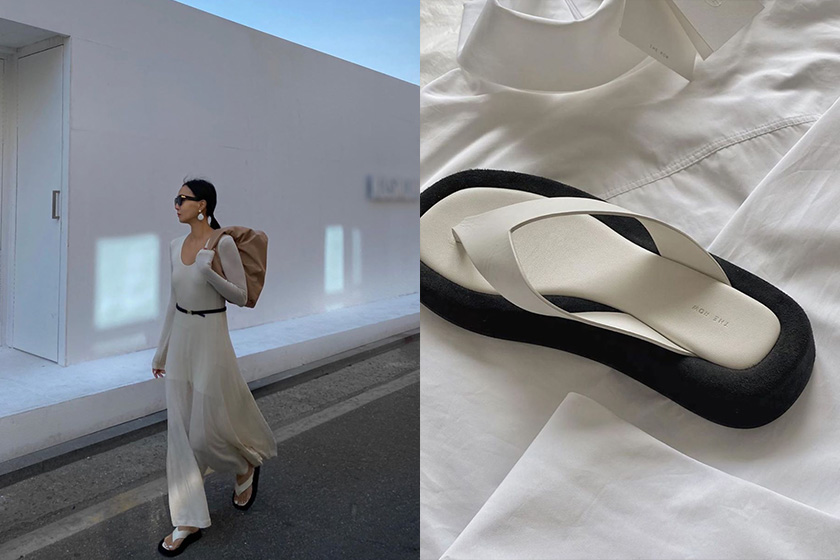 The Row flip flops fashion trend shoes 2020ss