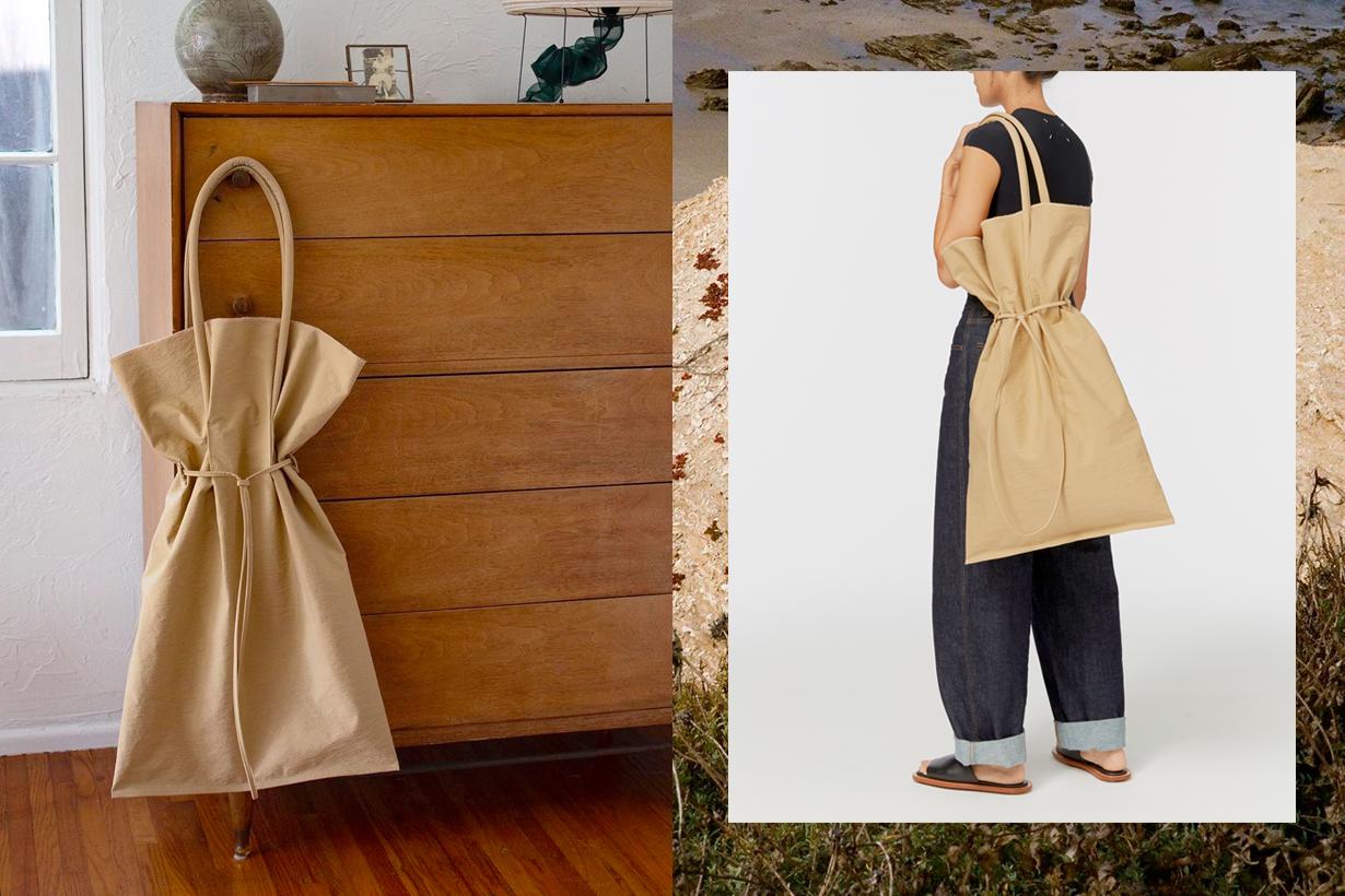 building block Garment Bag tote summer 2020