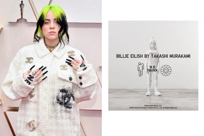 重量級聯乘!Billie Eilish X 村上隆的 Uniqlo UT 系列,粉絲哪有不搶的理由?
