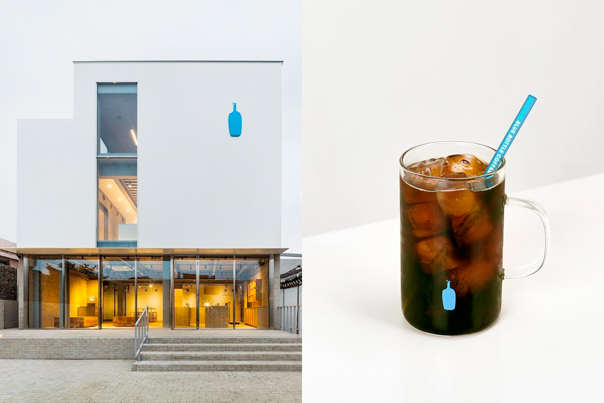 blue bottle coffee seoul korea 1st anniversary limited special item