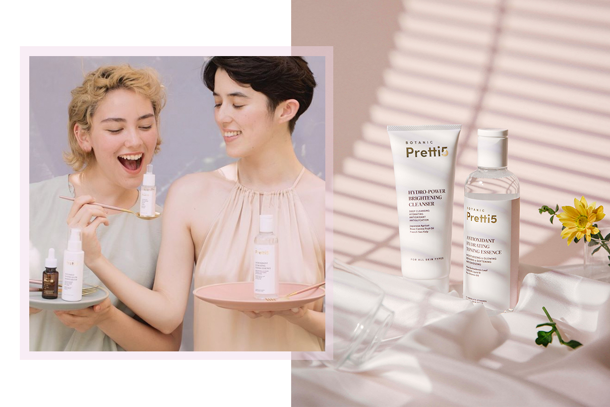 Botanic Pretti5 Hong Kong Brand Skincare