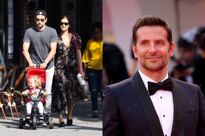 寵女兒認證:沒有明星包袱,Bradley Cooper 戴著粉紅蝴蝶結上街!