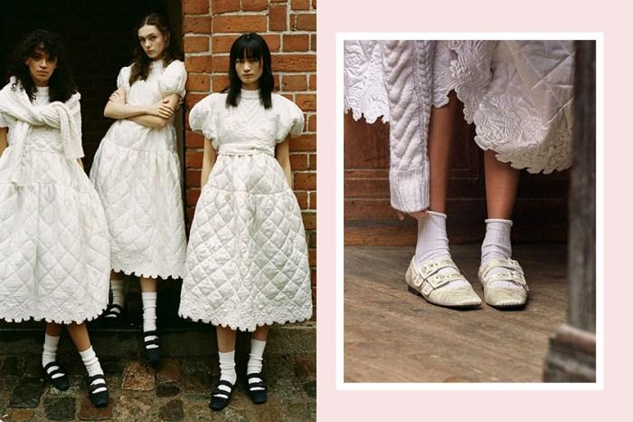 超人氣品牌 Cecilie Bahnsen 破天荒聯乘 Charles & Keith,全部都是女生必搶的氣質系鞋款!