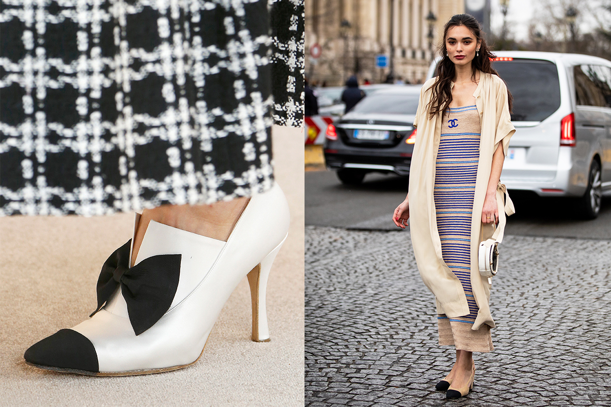 Chanel Two-Tone Shoe History