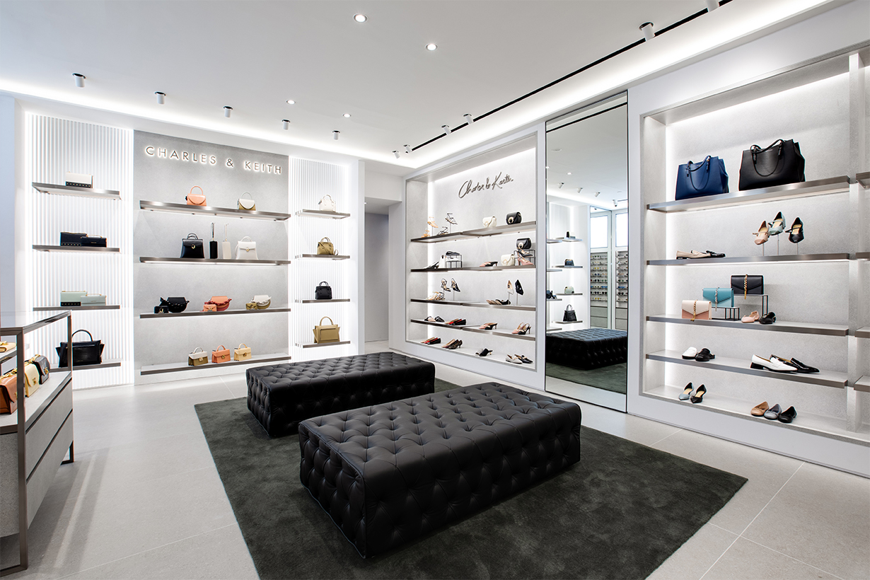 CHARLES & KEITH NEW STORE OPENING AT HARBOUR CITY