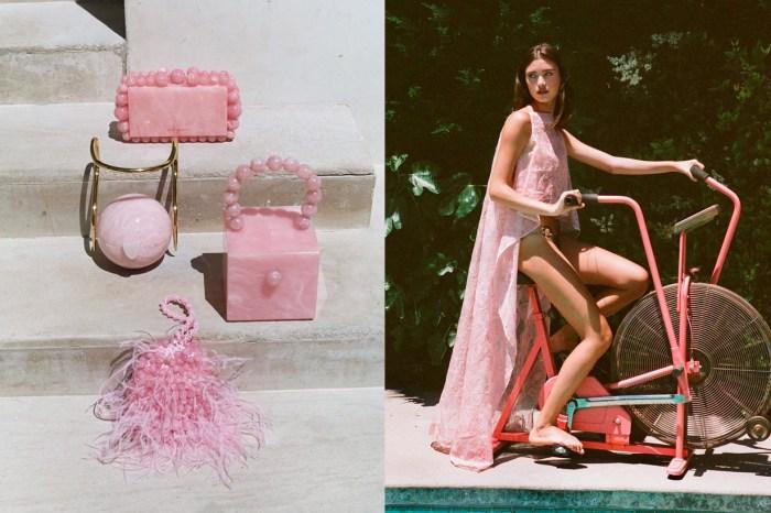 初戀的粉色系:Cult Gaia 推出一系列粉雲石紋手袋,這 5 款價錢都好入手!