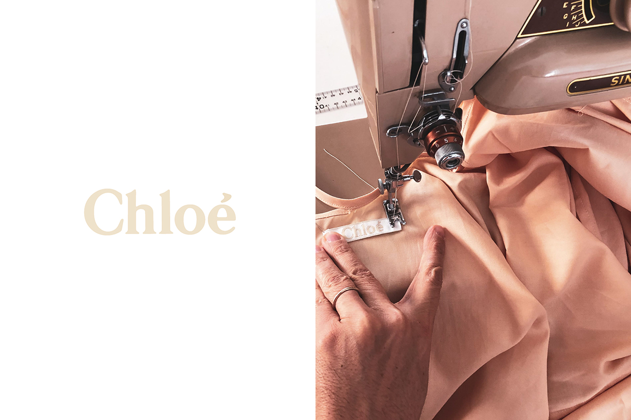 Chloé make hospital gowns Atelier Lazar Cuckovic