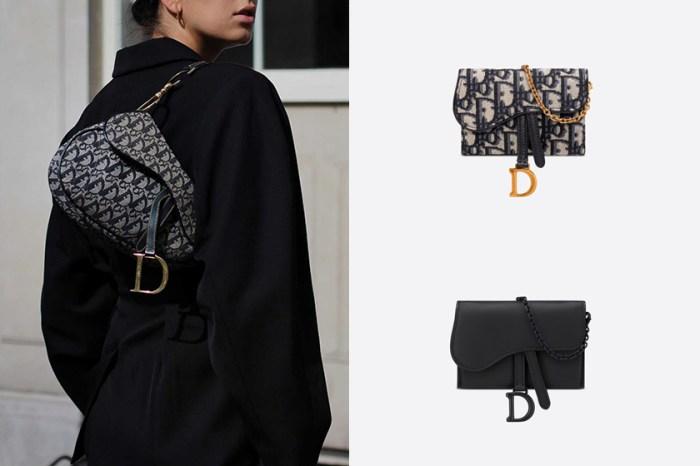 一包 4 種背法:Dior 馬鞍包迷你版 ,除了手袋外還能當銀包、腰包!