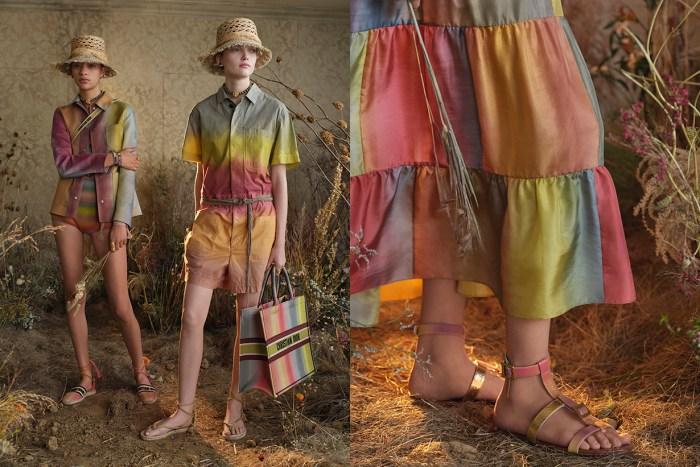 時尚又清新的彩虹色調!Dior 2020 春夏系列豔麗又不落俗套