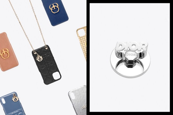 極致奢華:不只上架新手機殼,Dior 還悄悄推出了 Logo Ring!