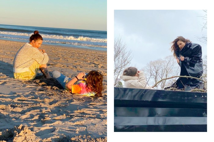 洋溢了愛的鏡頭:Drew Barrymore 登上封面,攝影師正是她 7 歲的小女兒!