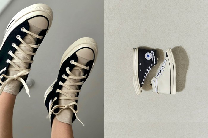 質感爆棚:繼秒售罄後,Converse 極簡黑白聯乘鞋款再次上架!