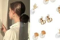 未上架詢問度爆燈:Dior 極簡珍珠耳環,蒙上一層唯美的不俗氣質!