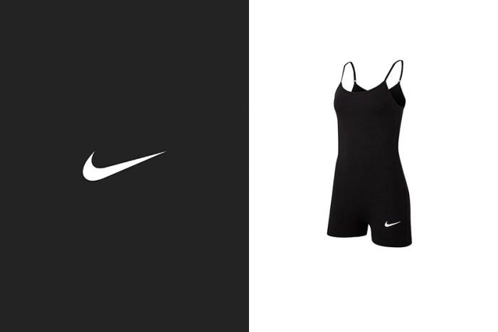 Nike 這一件簡約黑色連身衣,為什麼造成熱烈搶購?
