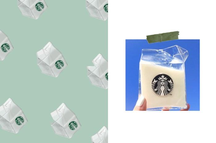 辦公室必收:Starbucks 全透明牛奶盒引起轟動,將是下一個爆款商品?