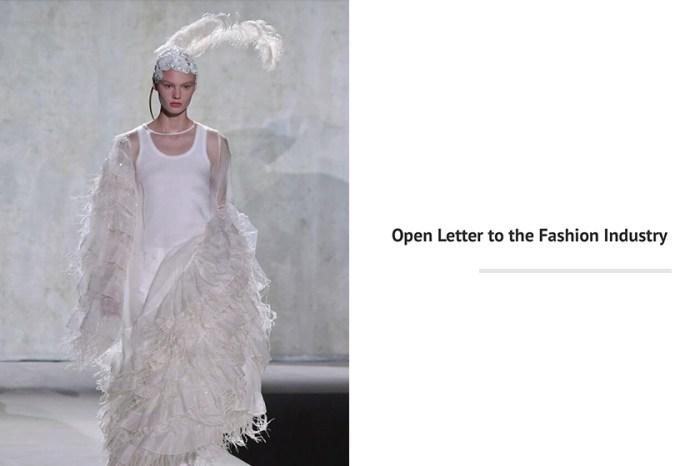 致時裝產業的公開信:Dries Van Noten 要求矯正這項「不合情理」的傳統!