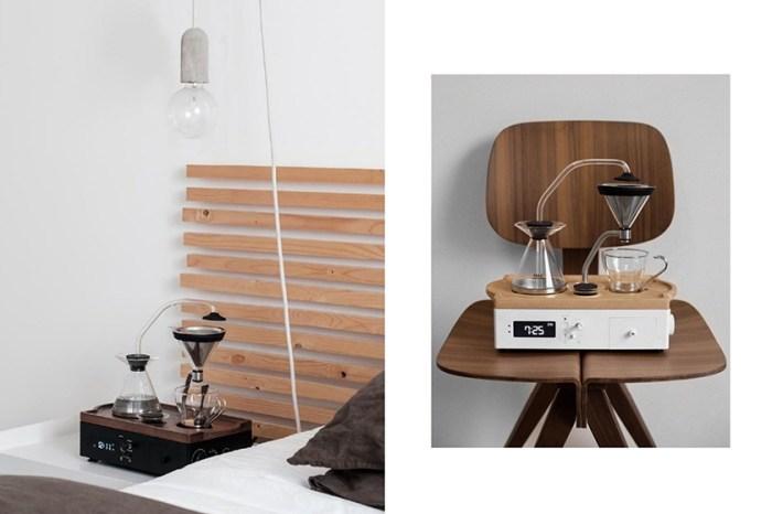 鬧鐘一響來杯早晨咖啡:咖啡+泡茶一台搞定,招架不住的質感生活!