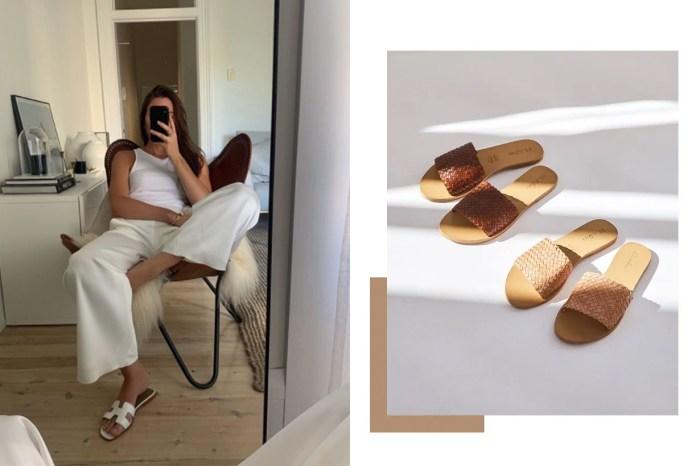 沒有高跟設計依然優雅時尚!法式、歐美女生一到夏季就追隨的平底涼鞋熱潮