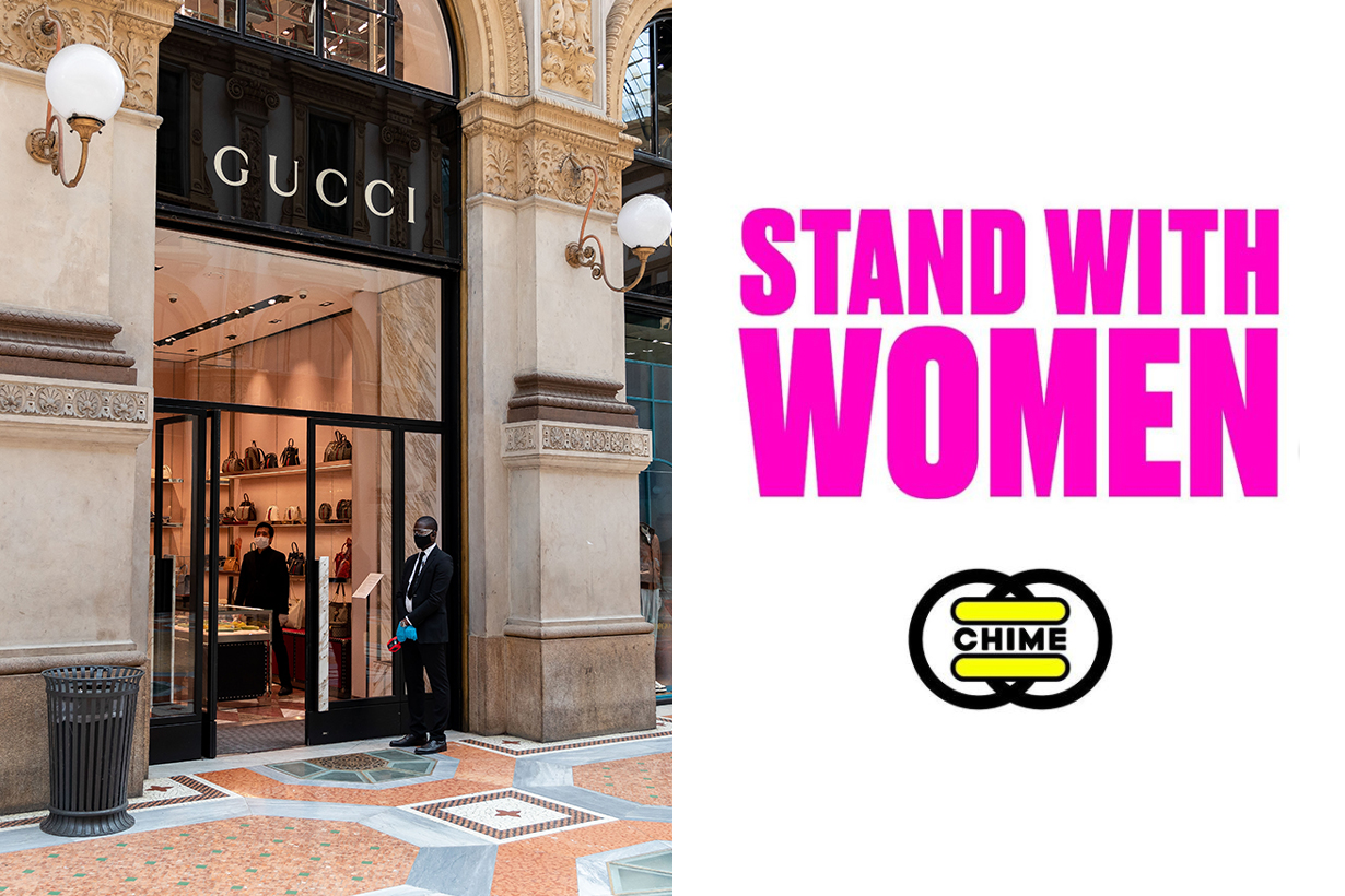Gucci's Chime for Change, Kering Foundation Launch #StandWithWomen