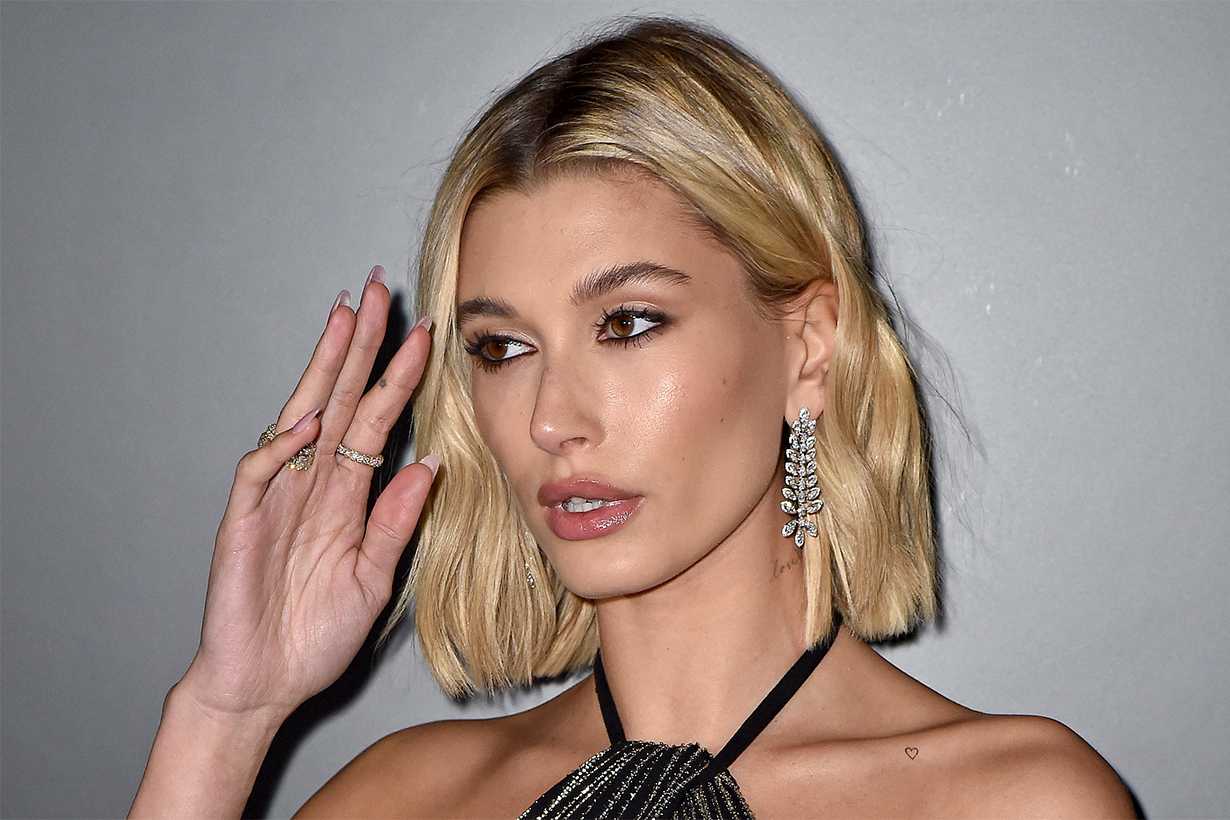 Hailey Bieber denies plastic surgery claims after calling out an edited pic of herself on Instagram
