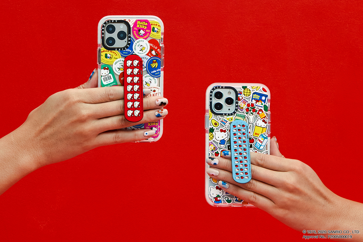 Hello Kitty x CASETiFY iPhone accessories