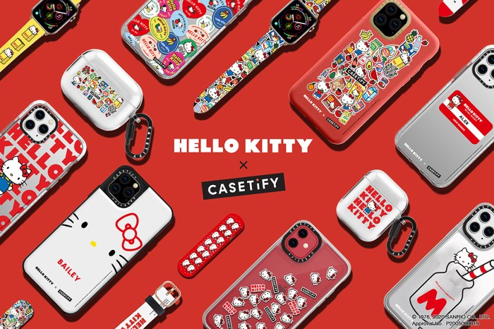 引爆少女心!Hello Kitty x CASETiFY 推出最可愛的 iPhone 周邊商品