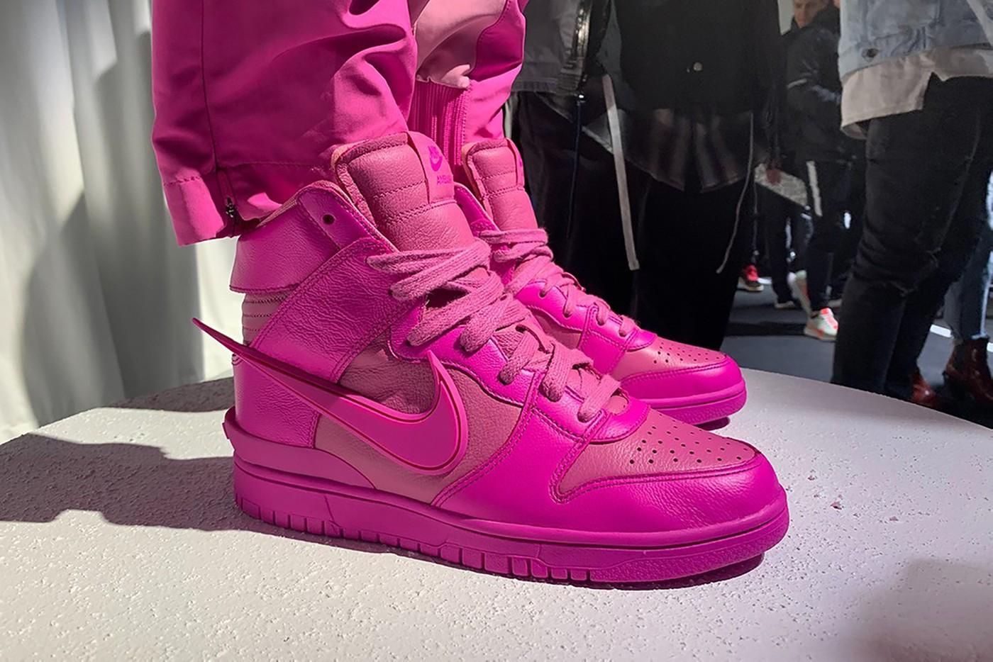 AMBUSH x Nike Dunk High Sneaker Collaboration