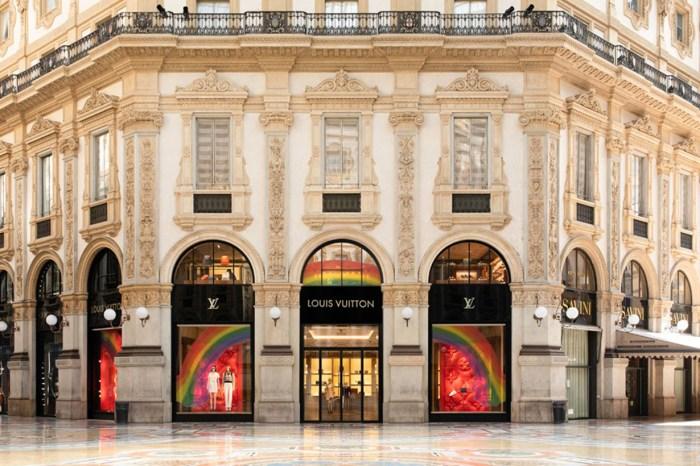 隨著各地門市重新開業,Louis Vuitton 決定這樣粉飾櫥窗!