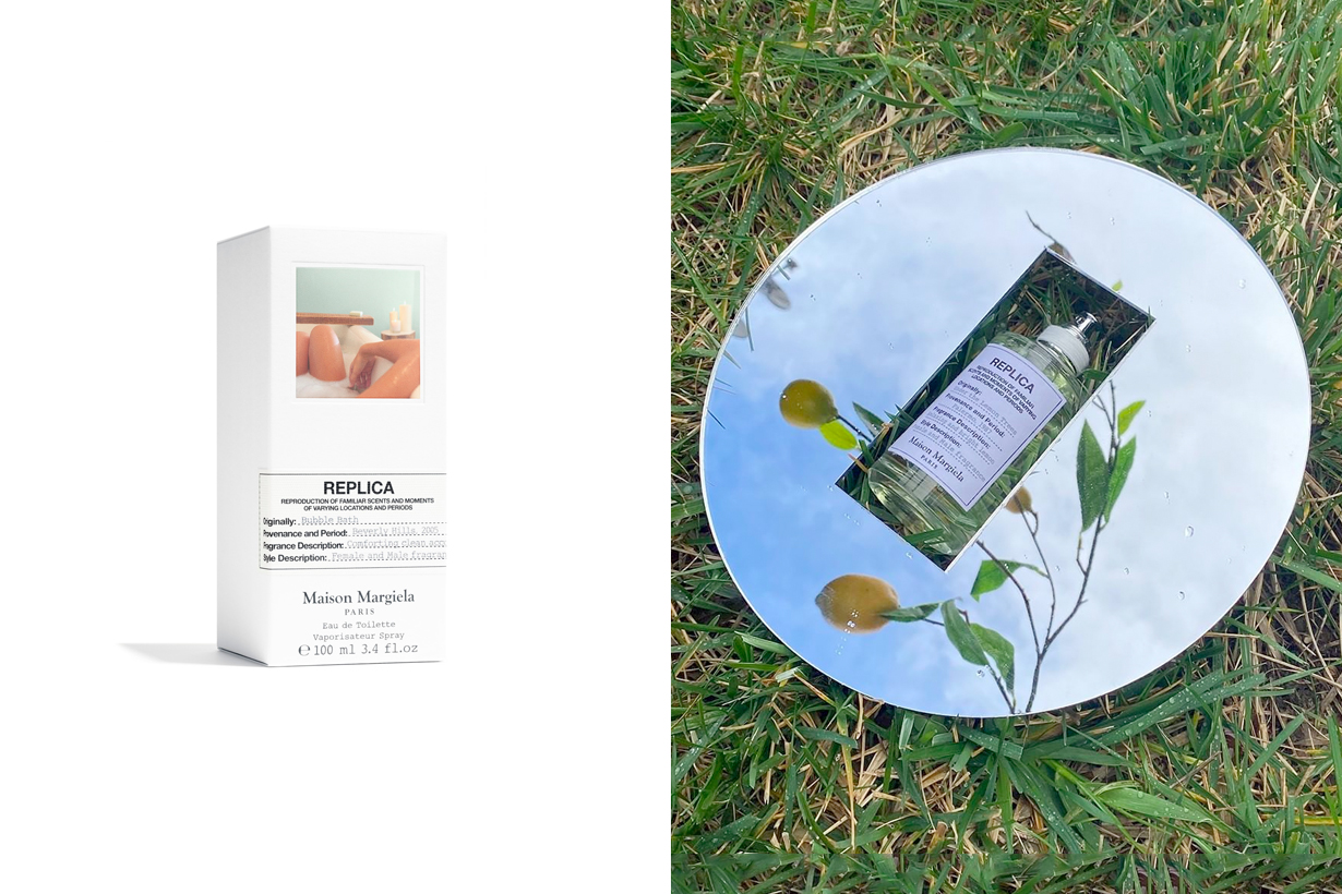 maison margiela replica fragrance new bubble bath july