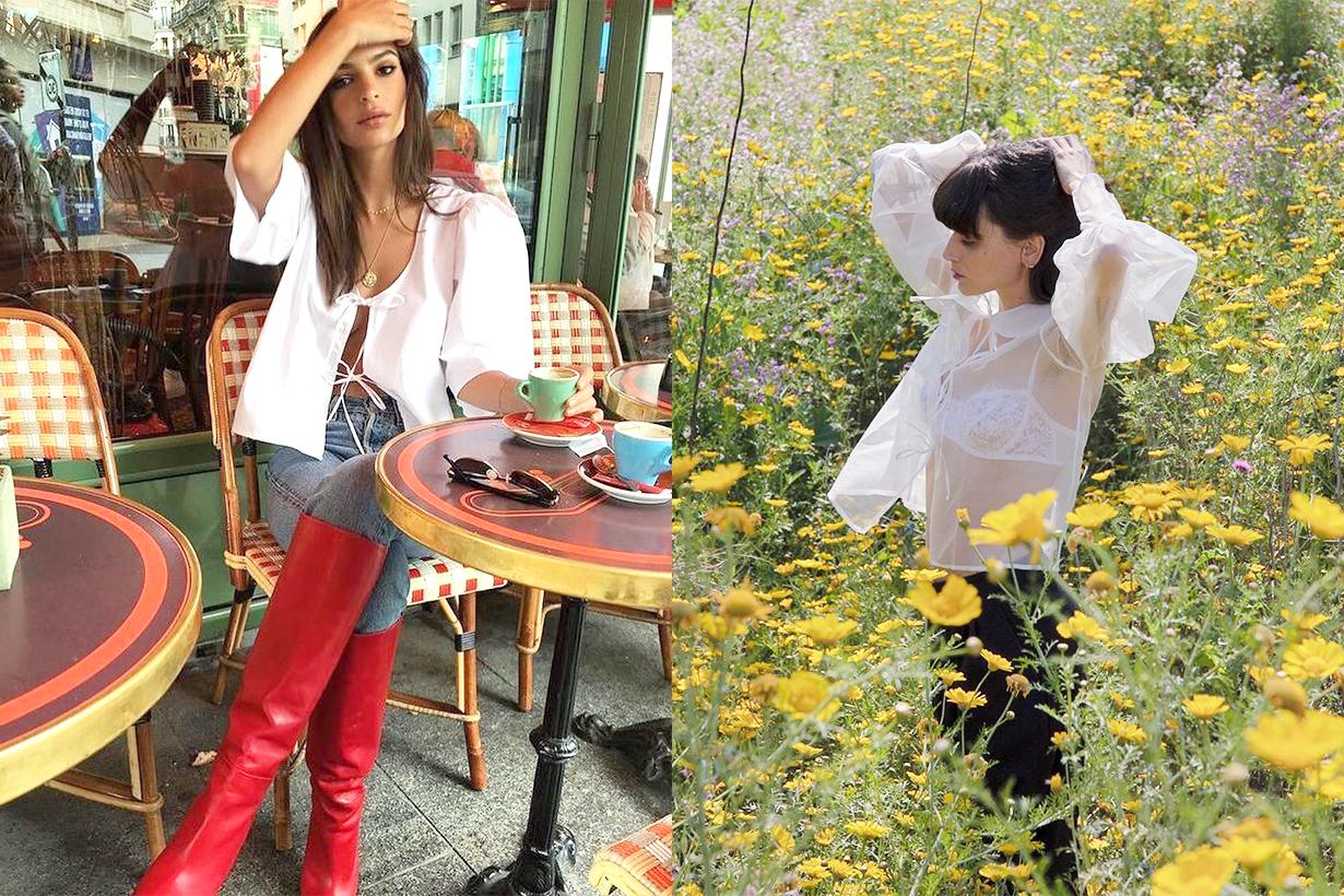 MaisonCléo Emily Ratajkowski Marie Dewet handmade French Brands French Indie Fashion Brand