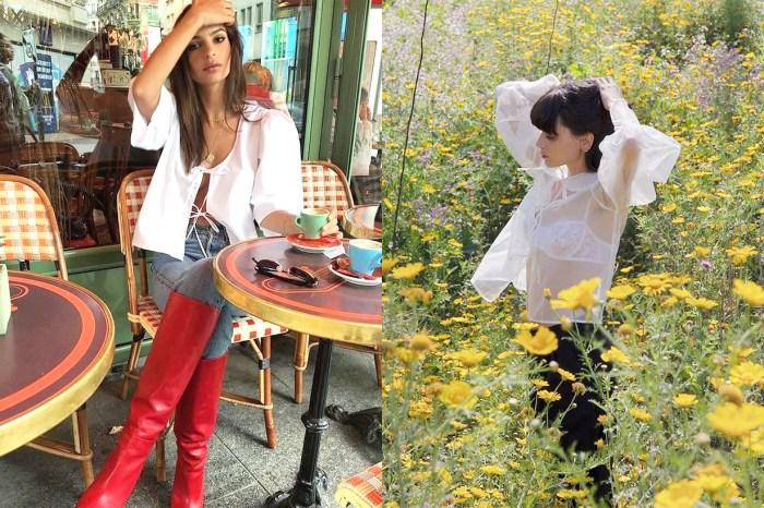 Emily Ratajkowski 也是粉絲!這個法國手工訂製品牌 MaisonCléo,讓你穿出女生的輕柔感!