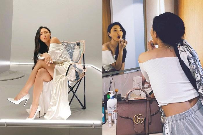 在 MAMAMOO 華莎 IG 亮相的這款手袋,是 Gucci 長期缺貨的人氣款式!