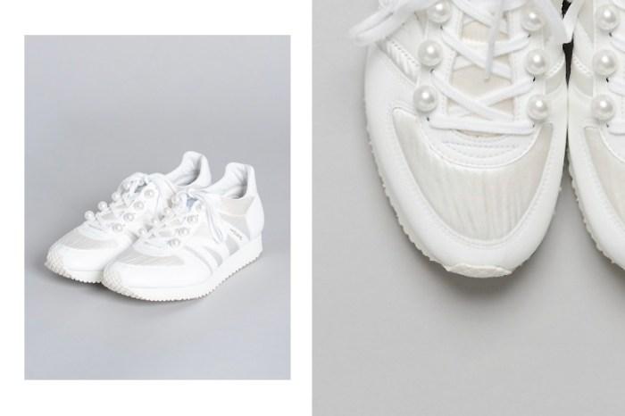 不一樣的白波鞋:多了皎白閃耀的珍珠,怎麼能讓人不心動?