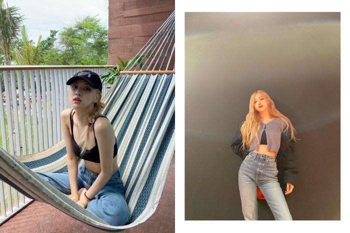 多次出鏡 IG:讓 BLACKPINK Rosé 愛不釋手的牛仔褲,竟是來自韓國網拍!