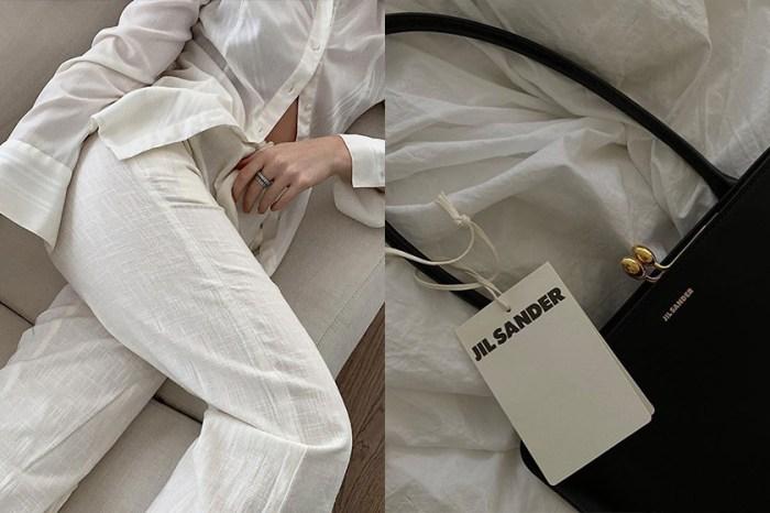 高質感乾淨色調:推介 15+ 正在折扣中,Jil Sander 渾然天成的極簡單品!