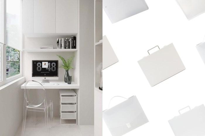將質感放上辦公桌:MUJI 透明+霧白文具用品,簡約的收納品味!