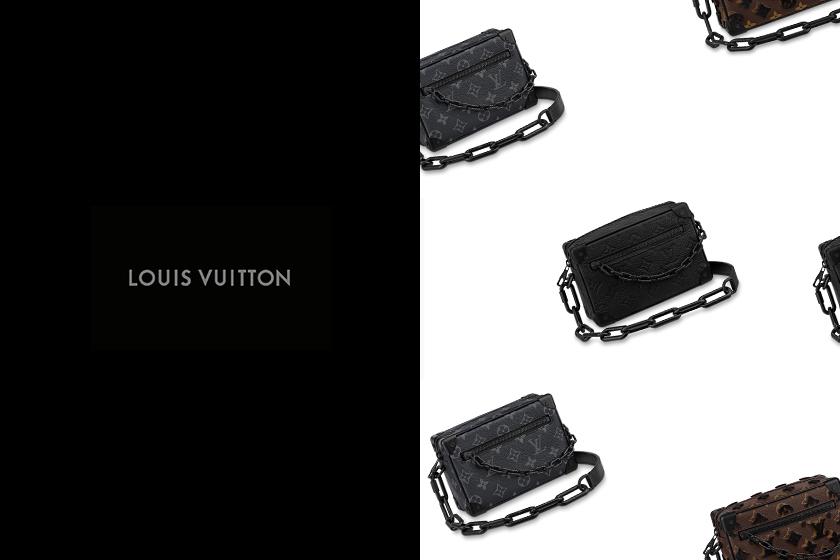 Louis vuitton mini soft trunk handbags