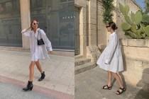 默默受到追捧:H&M 這件平價白色洋裝,低調又仙氣的質感單品!