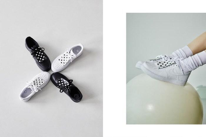 Nike x BEAMS 推出聯乘系列,優雅的黑白波點設計引起熱話!