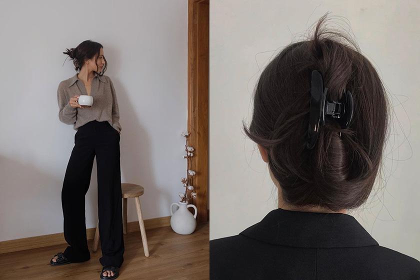 banana clip hairstyle fashion bloggers