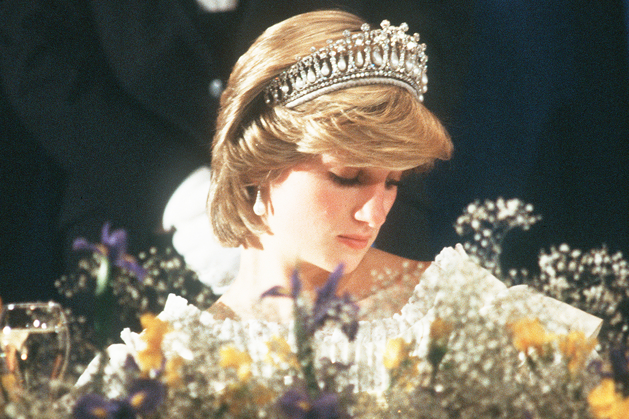 Princess Diana Lady Diana Fell asleep Prince Charles Queen Elizabeth II British Royal Family