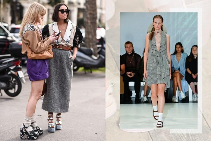 天橋、街頭認證:今夏的涼鞋流行穿法,絕對不能少了它!