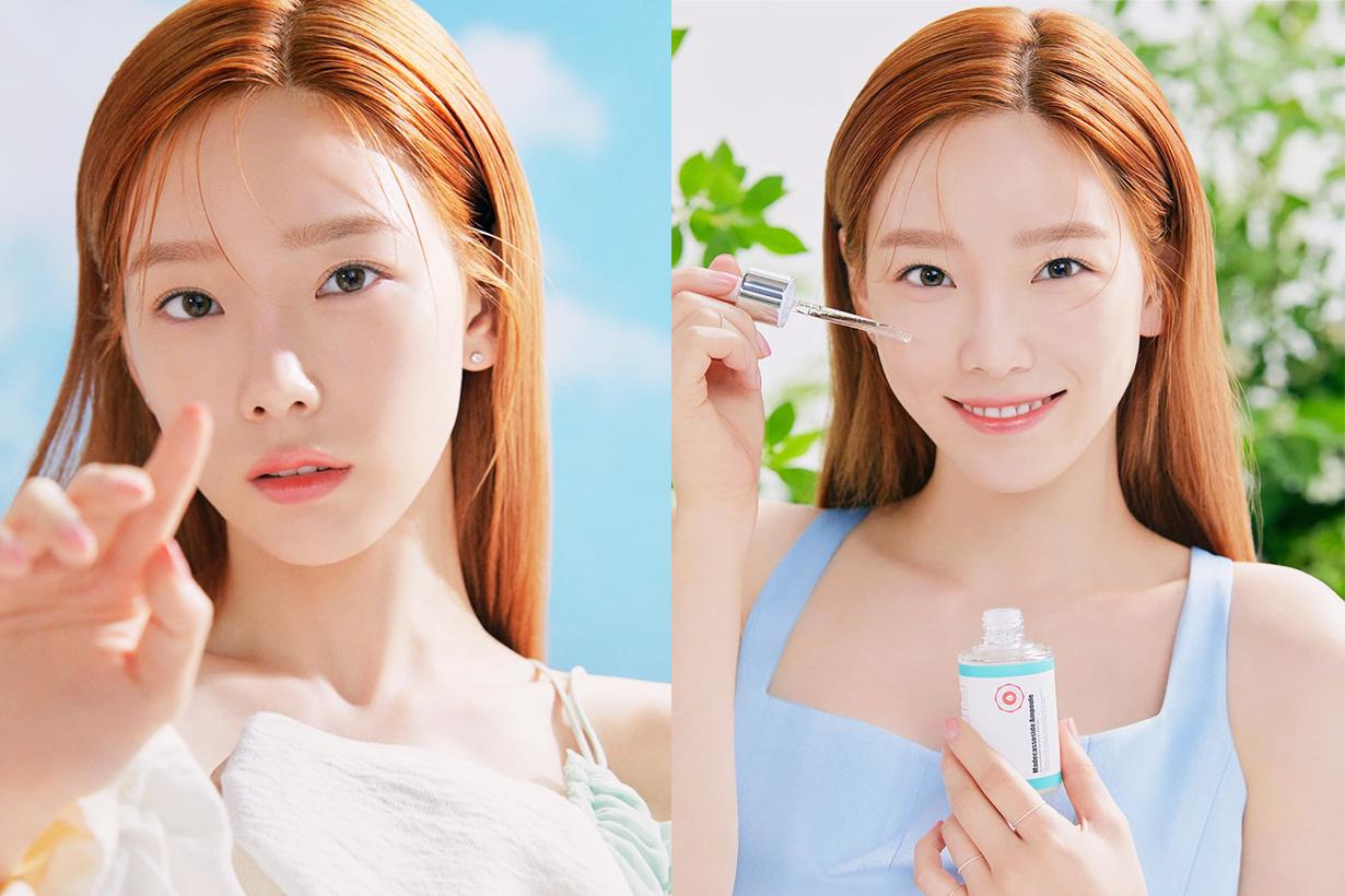 Taeyeon Kim A'pieu  MADECASSOSIDE AMPOULE Centella Asiatica Cica Korean Skincare Korean Idols celebrities singers