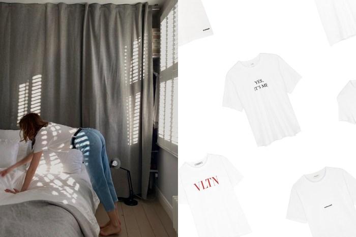 夏天不能少:10+ 款白色 T-Shirt 推介,簡單也能從細節中展現個性!
