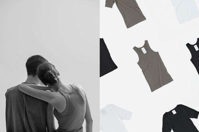 質感爆棚:HYKE 三方聯乘推出極簡 T-Shirt、無袖背心,僅有黑白灰三色!