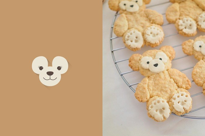在家完成少女餐桌:找個閒暇午後,動手做做可愛的 Duffy 餅乾吧!