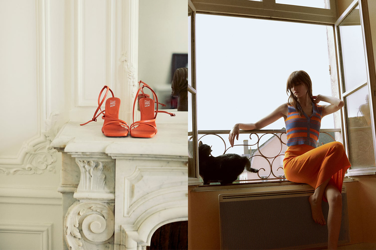 The Orange Trend At Zara Is Huge Right Now